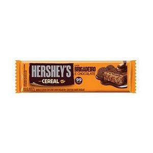 Barra Cereal Hersheys Brigadeiro e Chocolate 24 Unidades 22G