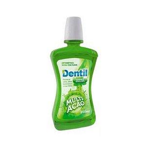 Enxaguante Bucal Dentil 250ML Multi Ação Hortelã C/Flúor 1 Unidade