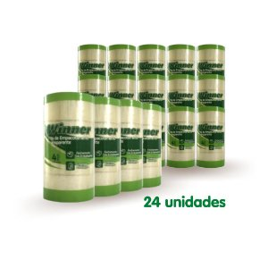 Winner Fita Empacotamento Transparente 45MM X 40M com 24 Unidades