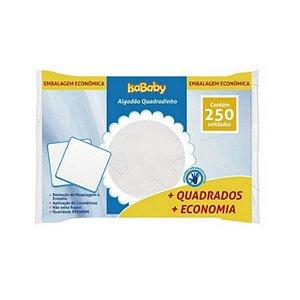 Isababy Algodão Quadradinho 1 Pacote Com 250 Unidades