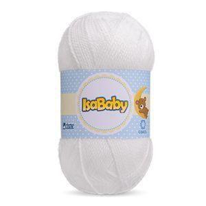 Isababy Fio Cisne 40G Branco 5 Unidades