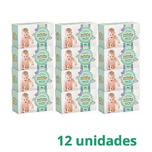 Isababy Sabonete Infantil Hidratante Aloe Vera 12 Unidades 80G