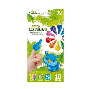 Isababy Zoo Maped Giz De Dedos 10 Cores