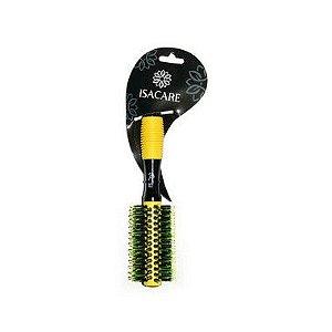Isacare Escova Profissional Yellow Hit C/Tubo Metálico 20MM 1 Unidade
