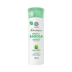 Isacare Shampoo 350ML Detox Babosa 1 Unidade