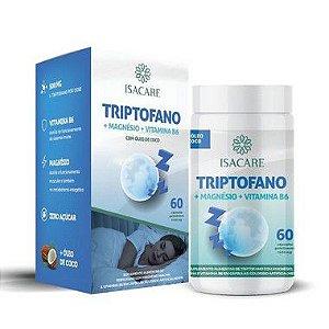 Isacare Vitamina B6 + Triptofan + Magnésio 60 Cápsulas 1 Unidade