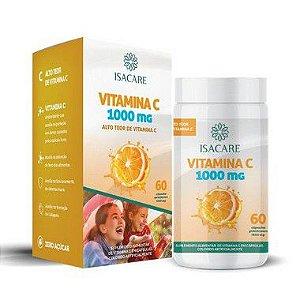 Isacare Vitamina C Suplemento 60 Cápsulas 1 Unidade