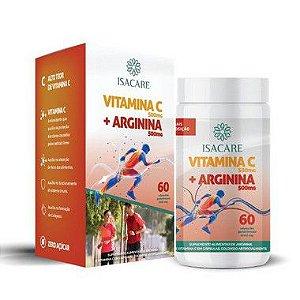 Isacare Vitamina C + Arginina 60 Cápsulas 1 Unidade