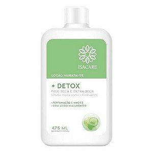 Isacare Loção Hidratante Detox 475ML 1 Unidade