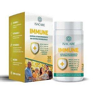 Isacare Vitamina D,C E + Zinco + Própolis + Selênio (Immune) 30 Cápsulas 1 Unidade