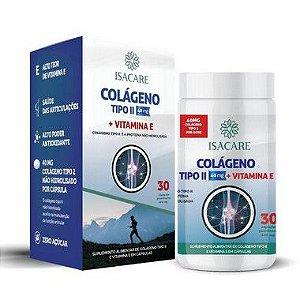 Isacare Vitamina E + Colágeno 30 Cápsulas 1 Unidade