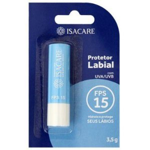 Isacare Protetor Labial FPS 15 3,5G 1 Unidade