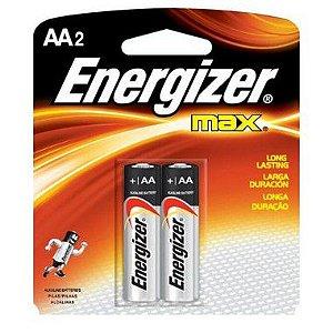 Pilha Energizer Max-Sm Pequena AA2 10 Cartelas Com 2 Unidades