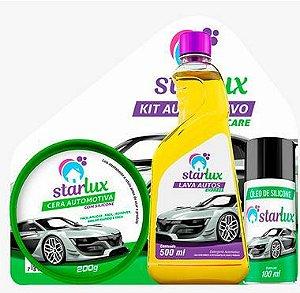Starlux Auto Kit Limpeza Automotiva Com 2 Unidades