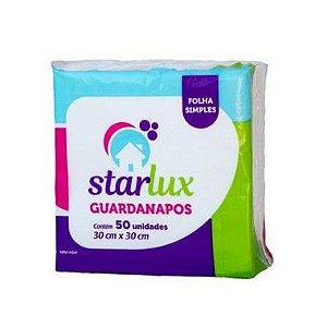 Starlux Guardanapo Mesa 30X30CM 50 Folhas Com 12 Unidades