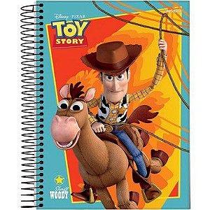 Starschool Caderno Espiral 1/4 Toy Story Capa Dura 80 Folhas com 5 Unidades