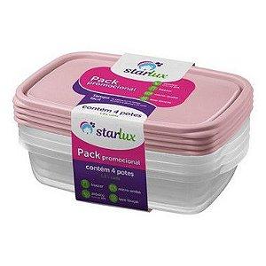 Starlux Ud Pote 1,8L Pack com 4 Potes