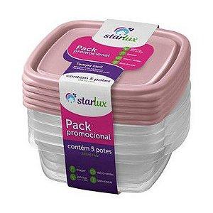 Starlux Ud Pote Plastico 530ML L5P4 1 Unidade