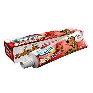 Creme Dental Dentil Scooby-Doo Gel Morango 12 Unidades 50G