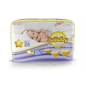 Isababy Fralda Premium Jumbo P 8 Pacotes Com 36 Unidades