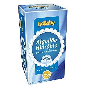 Isababy Algodão Hidrofilo 24 Pacotes Com 25G