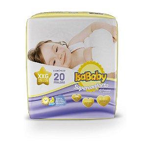 Isababy Fralda Premium Jumbo XXG 8 Pacotes Com 20 Unidades