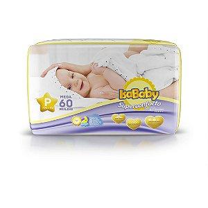 Isababy Fralda Premium Mega P 6 Pacotes Com 60 Unidades