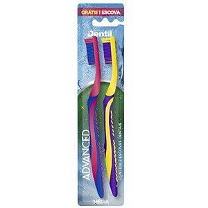 Escova Dentil Advanced Média Leve 2 Pague 1 - 12 Pacotes com 2 Unidades