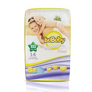 Isababy Fralda Premium Jumbinho EG 8 Pacotes Com 14 Unidades