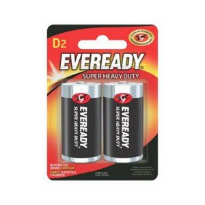 Pilha Eveready Grande D 24 Cartelas Com 2