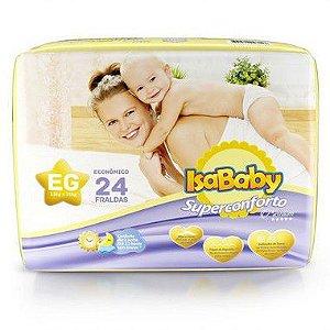 Isababy Fralda Premium Jumbo EG 8 Pacotes Com 24 Unidades