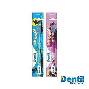 Escova Dentil Dias De Verão Macia 12 Unidades