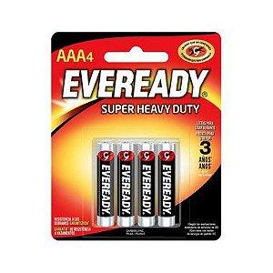 Pilha Eveready Sm-Palito AAA4 18 Cartelas Com 4
