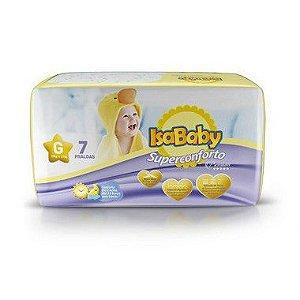 Isababy Fralda Premium Regular G 16 Pacotes com 7 Unidades