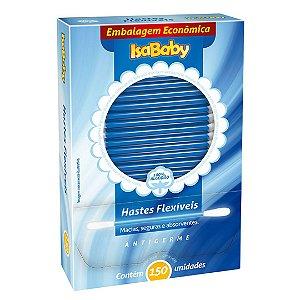 Isababy Haste Flexível 12 Pacotes Com 150 Unidades