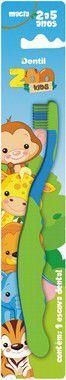 Escova Dentil Infantil Zoo Kids Extra Macia 12 Unidades