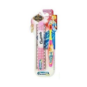 Escova Dentil Kids Escola Cinderela Com Régua 12 Unidades
