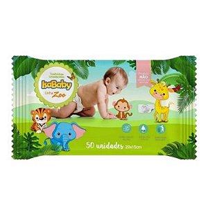 Isababy Toalha Umedecida Zoo 24 Pacotes Com 50 Unidades