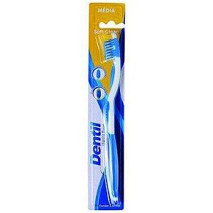 Escova Dentil Soft Clean Média 12 Unidades