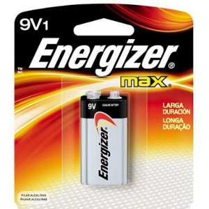 Bateria Energizer 9V 12 Unidades