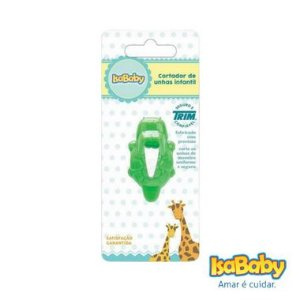 Isababy Trim Cortador Unha Mão Infantil Zoo 8-6T PG 1 Unidade