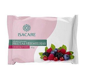 Sabonete Barra Frutas Vermelhas 12 Unidades 80G Isacare