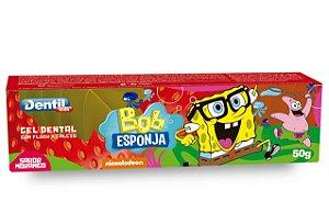 Creme Dental Kids Bob Esponja Morango 12 Unidades 50G Dentil