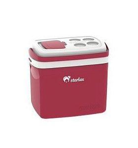 Caixa Térmica Tropical 32L Vermelha 1 Unidade Starlux