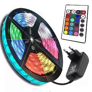 Fita de LED com Seleção de Cores