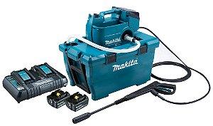 Lavadora de Alta Pressão a bateria MAKITA para higienização de ambientes