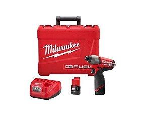 Parafusadeira Impacto 1/4 Fuel Milwaukee 2453-259 Brushless