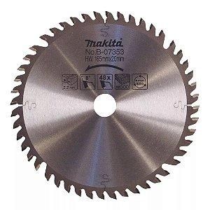 Serra Em Widea Makita - Sp6000 165mm X 48 Dentes