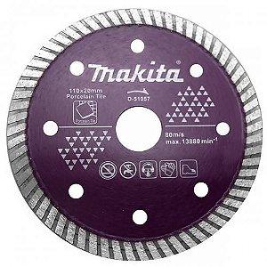 Disco diamantado para Porcelanato 110mm Makita D-51057