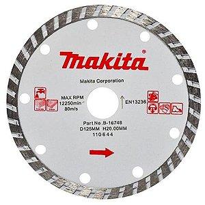 Disco Diamantado para Serra Mármore 125mm Makita B-16748